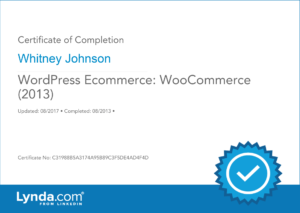 WordPress Woo Commerce